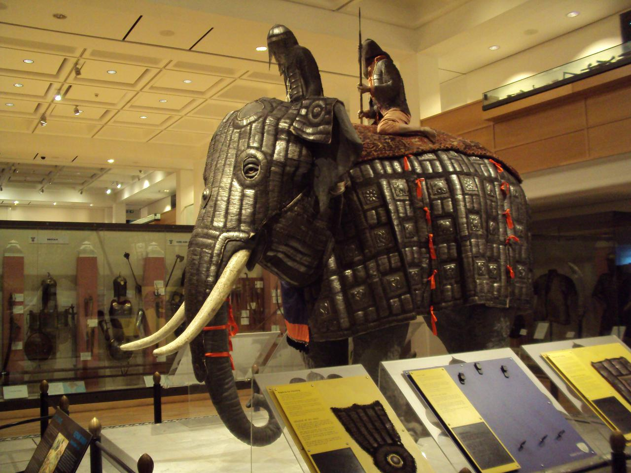Royal Armouries Hunting Gallery Elephant Armour