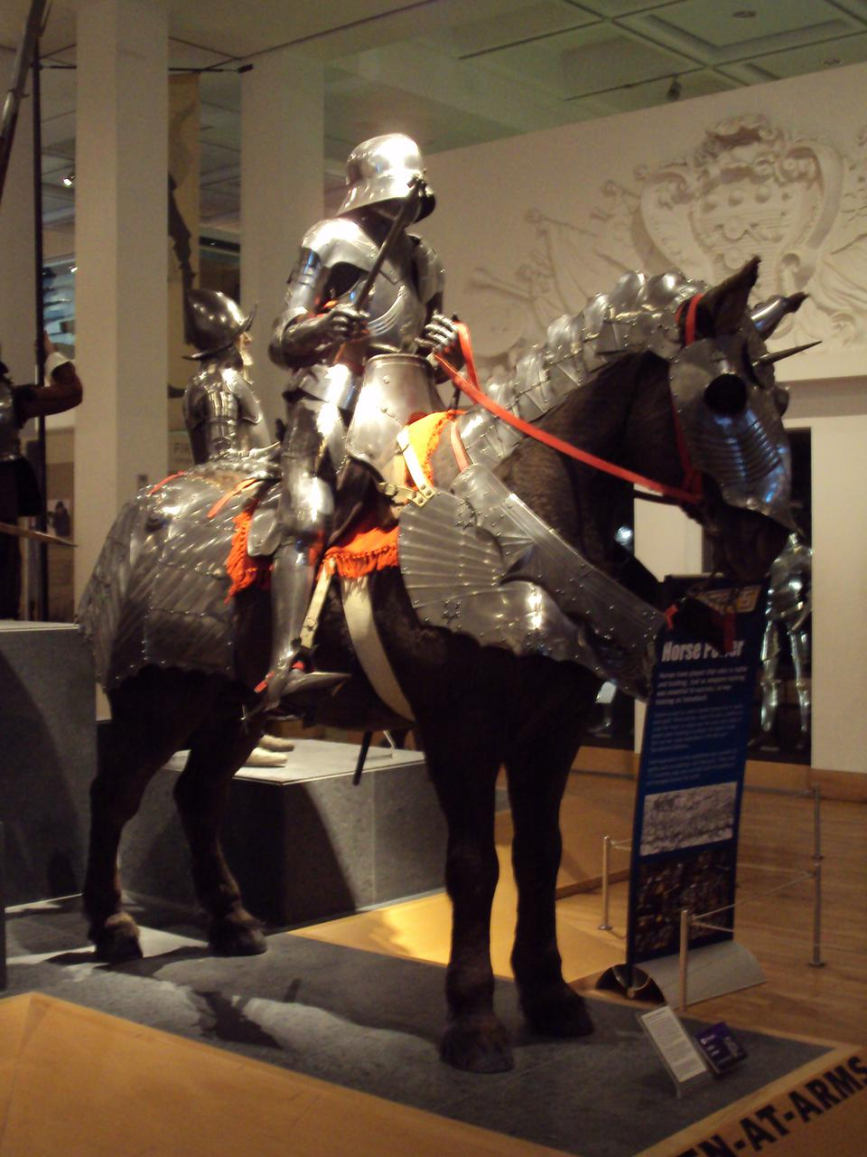 Royal Armouries Mounted Knight